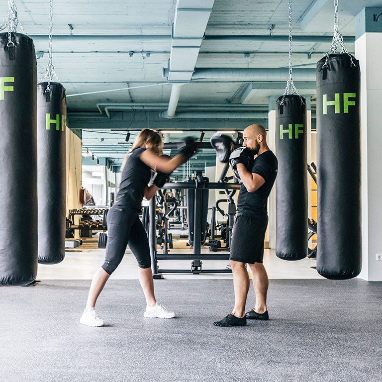 Exclusieve Fitness Club in Eindhoven - Boxen