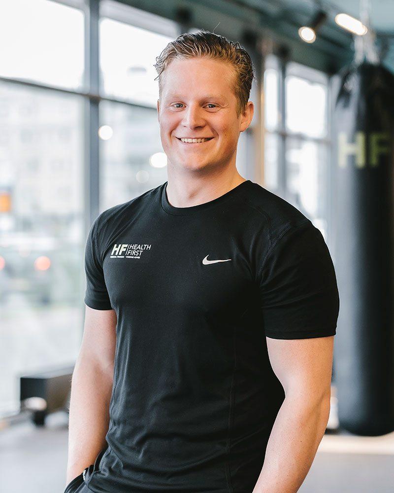 Sem van den Akker, Personal Trainer van Health First Club - Eindhoven