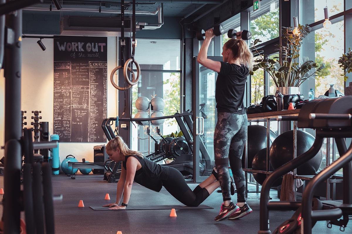 Fitnessen onder begeleiding